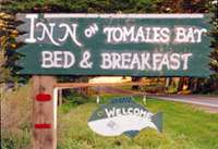 Sign for Inn on Tomales Bay